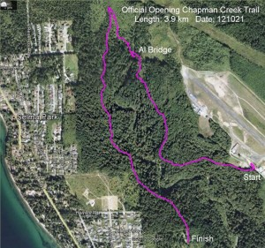 Chapman Creek Map