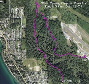 Chapman Creek Map