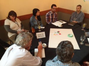 Rountable discussion at Active Transportation Forum